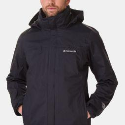 Columbia Mens Mission Air 3-in-1 Jacket Black / Black