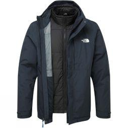 The North Face Mens Selsley Triclimate II Jacket Dark Navy Heather