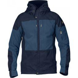 Fjallraven Mens Keb Jacket Dark Navy/Unlce Blue