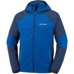 Columbia Mens Sweet As II Softshell Hoodie Azul/ Collegiate Navy