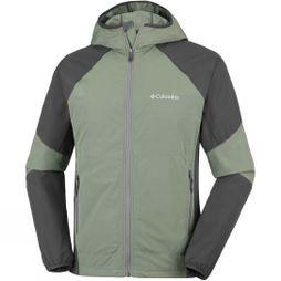 Columbia Mens Sweet As II Softshell Hoodie Cypress/ Shark