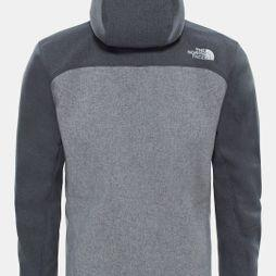 The North Face Mens Apex Bionic Hoodie TNF Dark Grey Heather/TNF Medium Grey Heather
