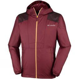 Columbia Mens Flashback Windbreaker Tapestry/ Dark Merlot/ Pilsner