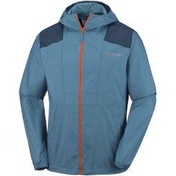 Columbia Mens Flashback Windbreaker Mountain/ Collegiate Navy
