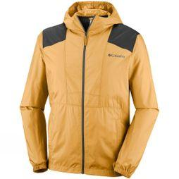 Columbia Mens Flashback Windbreaker Pilsner/ Shark