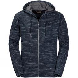 Jack Wolfskin Mens Oceanside Hooded Jacket Night Blue