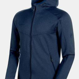 Mammut Mens Nair ML Hooded Jacket Peacoat Melange