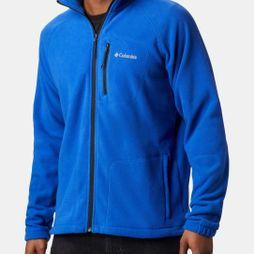 Columbia Mens Fast Trek II Full Zip Fleece Azul/ Black