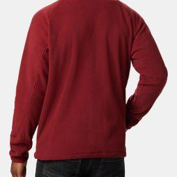Columbia Mens Fast Trek II Full Zip Fleece Red Jasper/ Dark Mountain