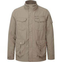 Craghoppers Mens Nosilife Adventure Jacket Pebble