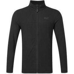 Jack Wolfskin Mens Tokee Full Zip Fleece  Black