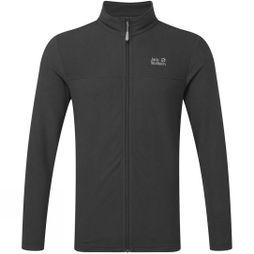 Jack Wolfskin Mens Tokee Full Zip Fleece  Phantom