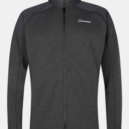 Berghaus Mens Caldey Fleece Jacket Black / Carbon