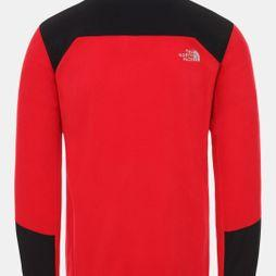 The North Face Mens Glacier Pro Full Zip Fleece Tnf Red/Tnf Black