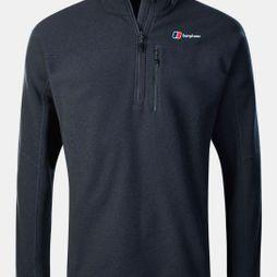 Berghaus Mens Stainton Half Zip Fleece Dark Grey
