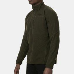 Berghaus Mens Stainton Half Zip Fleece Ivy Green/Peat
