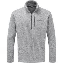 Ayacucho Mens Drasland Half Zip Fleece Light Grey