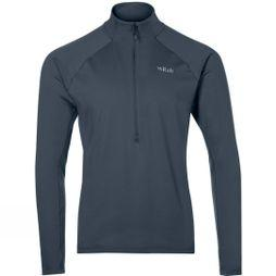 Rab Mens Flux Pull-On Fleece Beluga