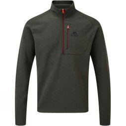 Mountain Equipment Mens Kore Zip-T Fleece Graphite