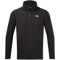The North Face Mens Cornice II 1/4 Zip Fleece TNF Black