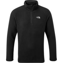 The North Face Mens Cornice II 1/4 Zip Fleece TNF Black/Tin Grey
