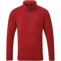 The North Face Mens Cornice II 1/4 Zip Fleece Cardinal Red