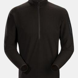 Arc'teryx Mens Delta Lightweight Half Zip Black