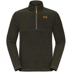 Jack Wolfskin Mens Langdale 1/2 Zip Fleece Malachite