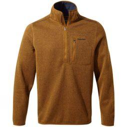 Craghoppers Mens Etna Half-Zip Fleece Spiced Copper Marl
