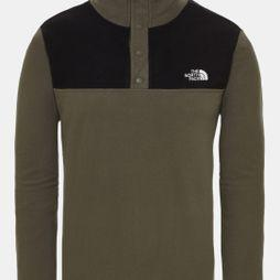 Mens Tka Glacier Snap-Neck Fleece