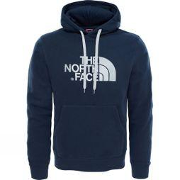 The North Face Mens Drew Peak Pullover Hoodie Urban Navy/High Rise Grey