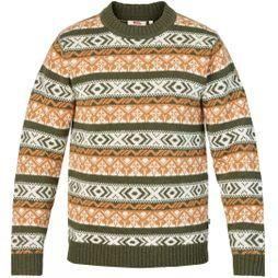 Mens Övik Folk Knit Sweater