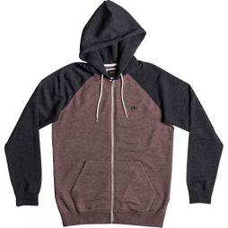 Quiksilver Everyday Zip Hoodie Marron Heather