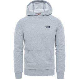 Mens Raglan Simple Dome Hoodie