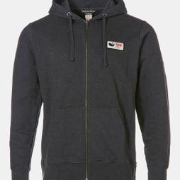 Rab Mens Journey Zip Hoodie Grey Marl