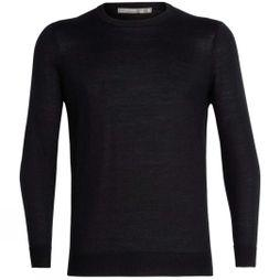 Icebreaker Mens Quailburn Crewe Sweater Black