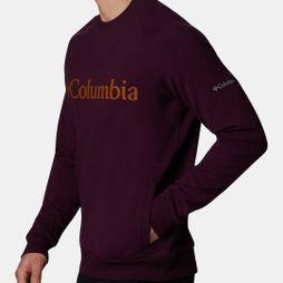 Columbia Mens Columbia Lodge Crew Black Cherry