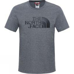 The North Face Mens Short Sleeve Easy Tee TNF Medium Grey Heather (Std)