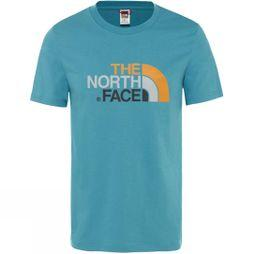 The North Face Mens Short Sleeve Easy Tee Storm Blue