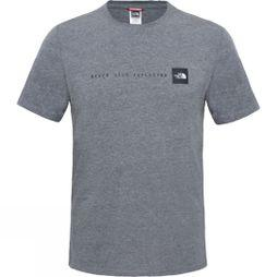 The North Face Mens Short Sleeve NSE Tee TNF Medium Grey Heather