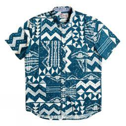 Quiksilver East Cape Crown SS Moroccan Blue