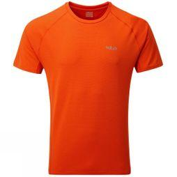 Rab Mens Force Short Sleeve Tee Firecracker