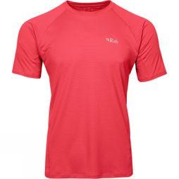 Rab Mens Force Short Sleeve Tee Cayenne