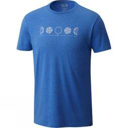 Mens Phases Of Space Station Short Sleeve Tee