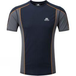 Mountain Equipment Mens Ignis Tee Cosmos/Ombre Blue