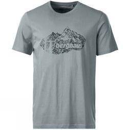 Mens Branded Mountain T Shirt
