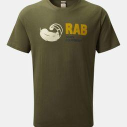 Rab Mens Stance Vintage SS Tee Army