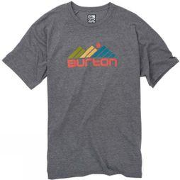 Burton Mens Gosstown SS Tee Gray Heather
