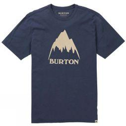 Burton Mens Class Mountain High SS Tee Mood Indigo