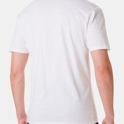 Columbia Mens Muir Pass Short Sleeve Tee White Range Roam Pattern